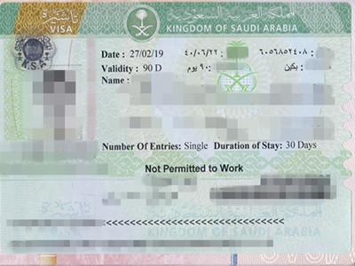 沙特签证材料有误加急后险出签